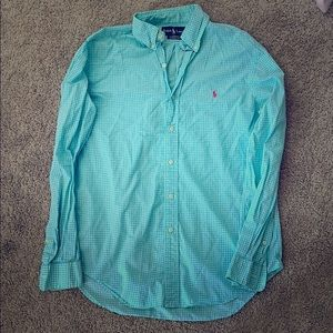 Ralph Lauren button up collared shirt